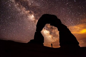 archway with stars